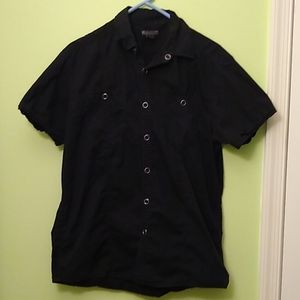 Kenneth Cole short sleeve button up shirt